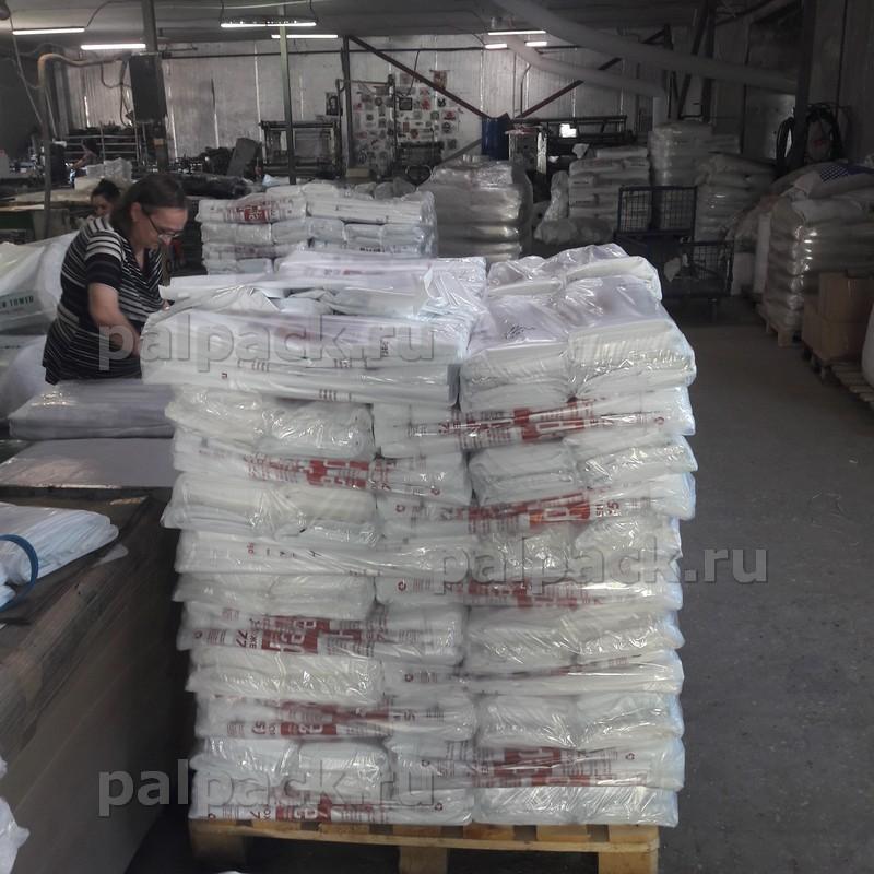 Объемы производства пакетов