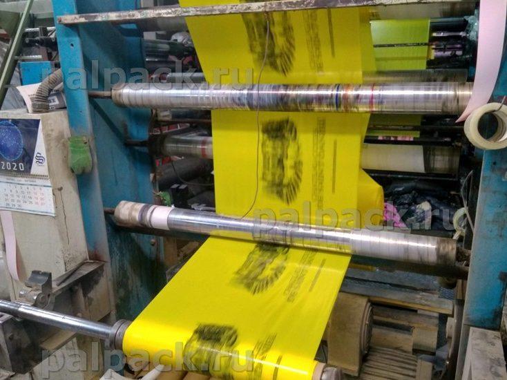 ПВД пакеты с флексопечатью